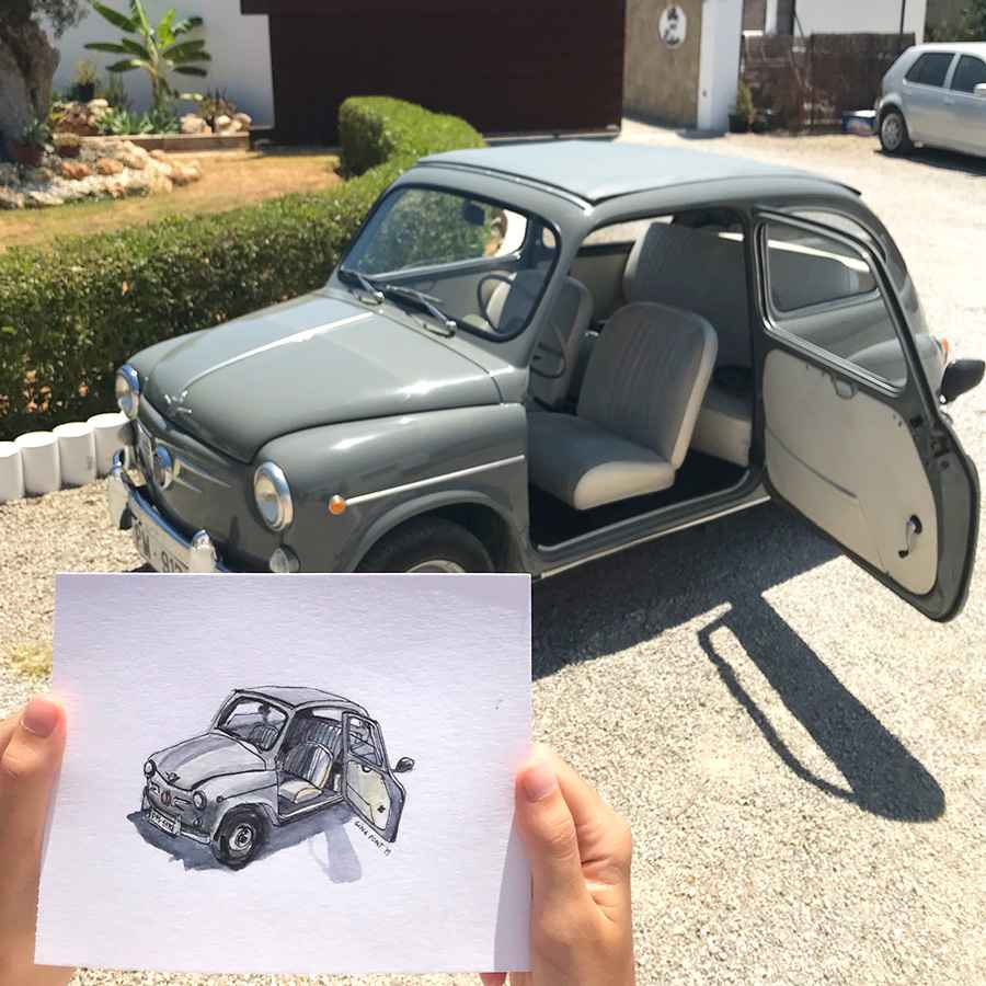 Showcase: Custom sketching of a Seat 600